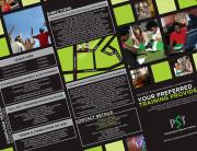Presentation Software Training Marketing Leaflet